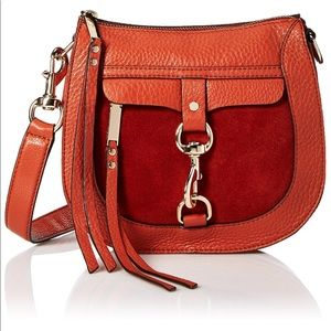 Rebecca Minkoff crossbody saddle bag